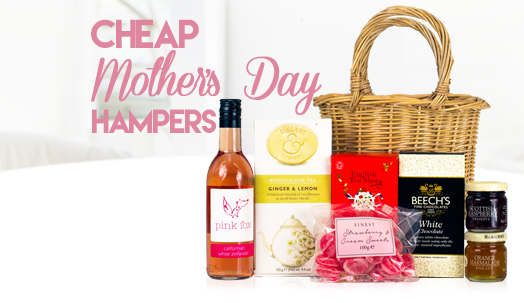 Cheap hampers for Mother's Day