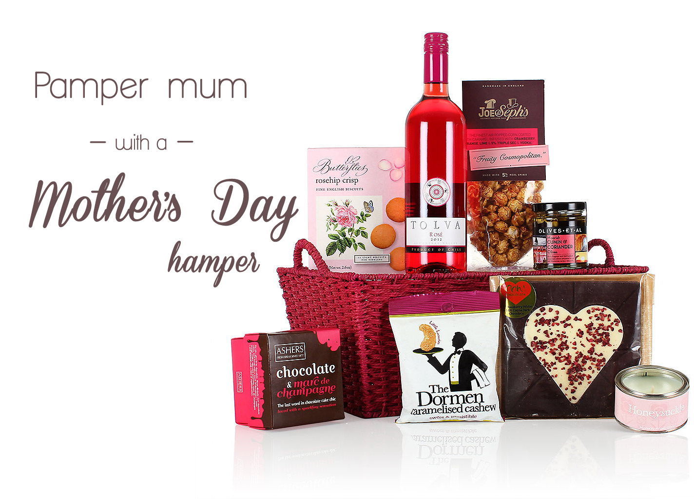 Pamper mum with a Mother's Day hamper