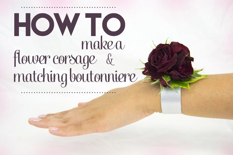 How to make a corsage and matching boutonniereflower press how to make a flower corsage mightylinksfo
