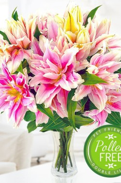 Rare Roselily Bouquet