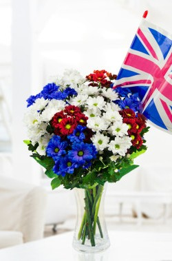Team GB Rio Olympics flowers