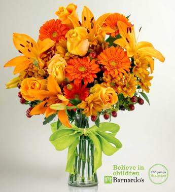 Send fresh flowers for an autumn birthdays
