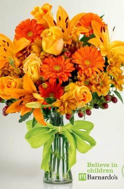 Prestige Flowers and Barnardo's Firecracker Ball 2016