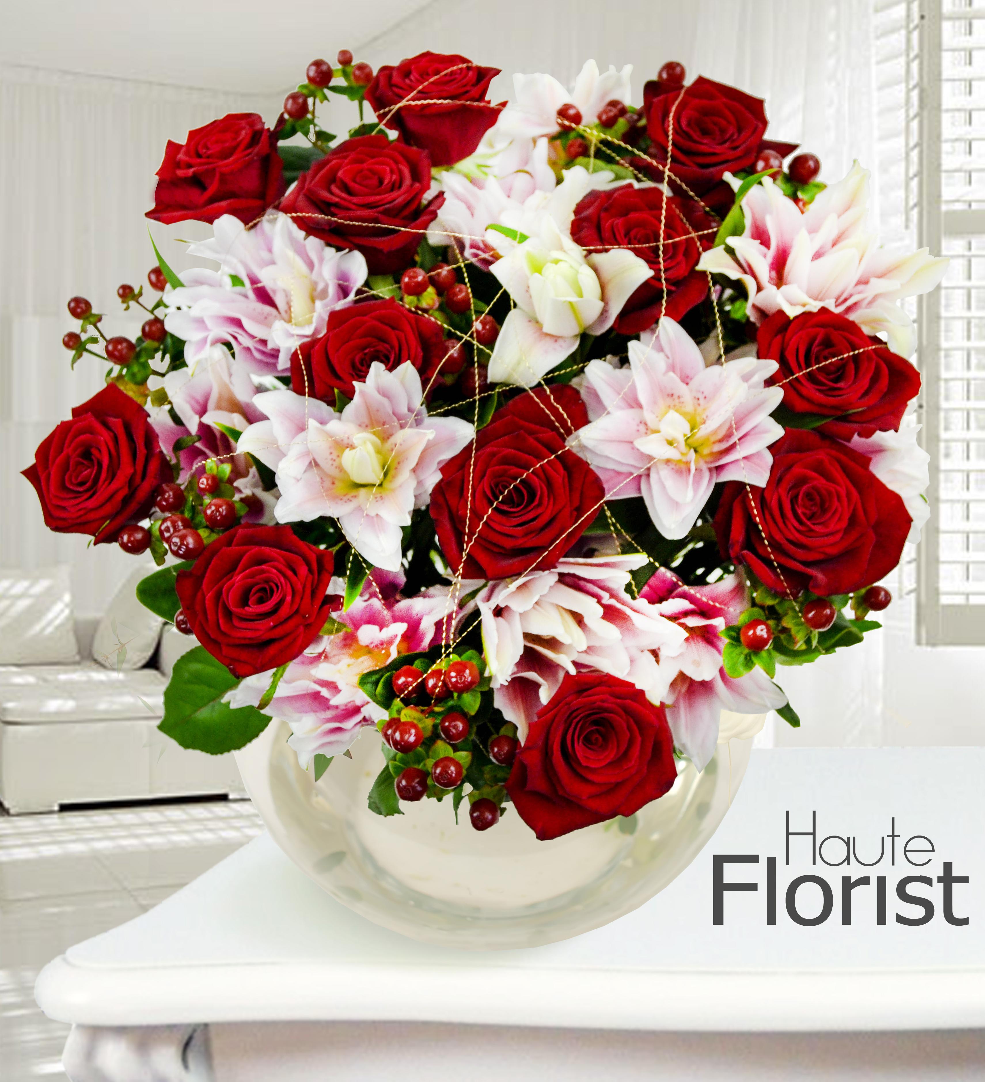 Spoiling her for Christmas - Flower PressFlower Press