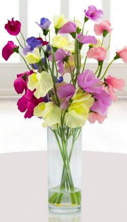 Stunning silk flowers for Valentine's Day