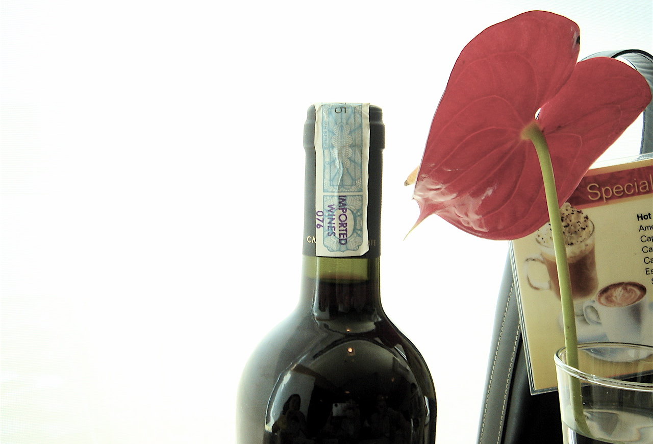 Turn old wine bottles into vases flower pressflower press for What to make with old wine bottles
