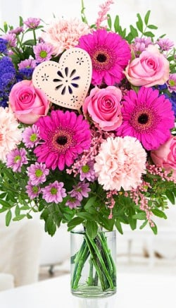 Accents for Mother's Day flowers