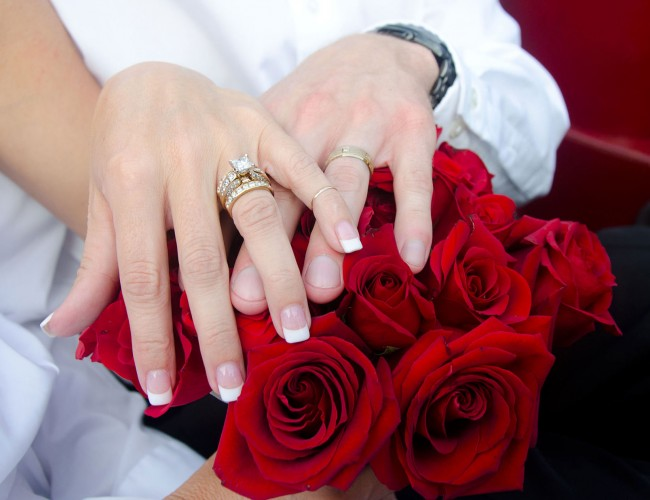 Classic bridal bouquets