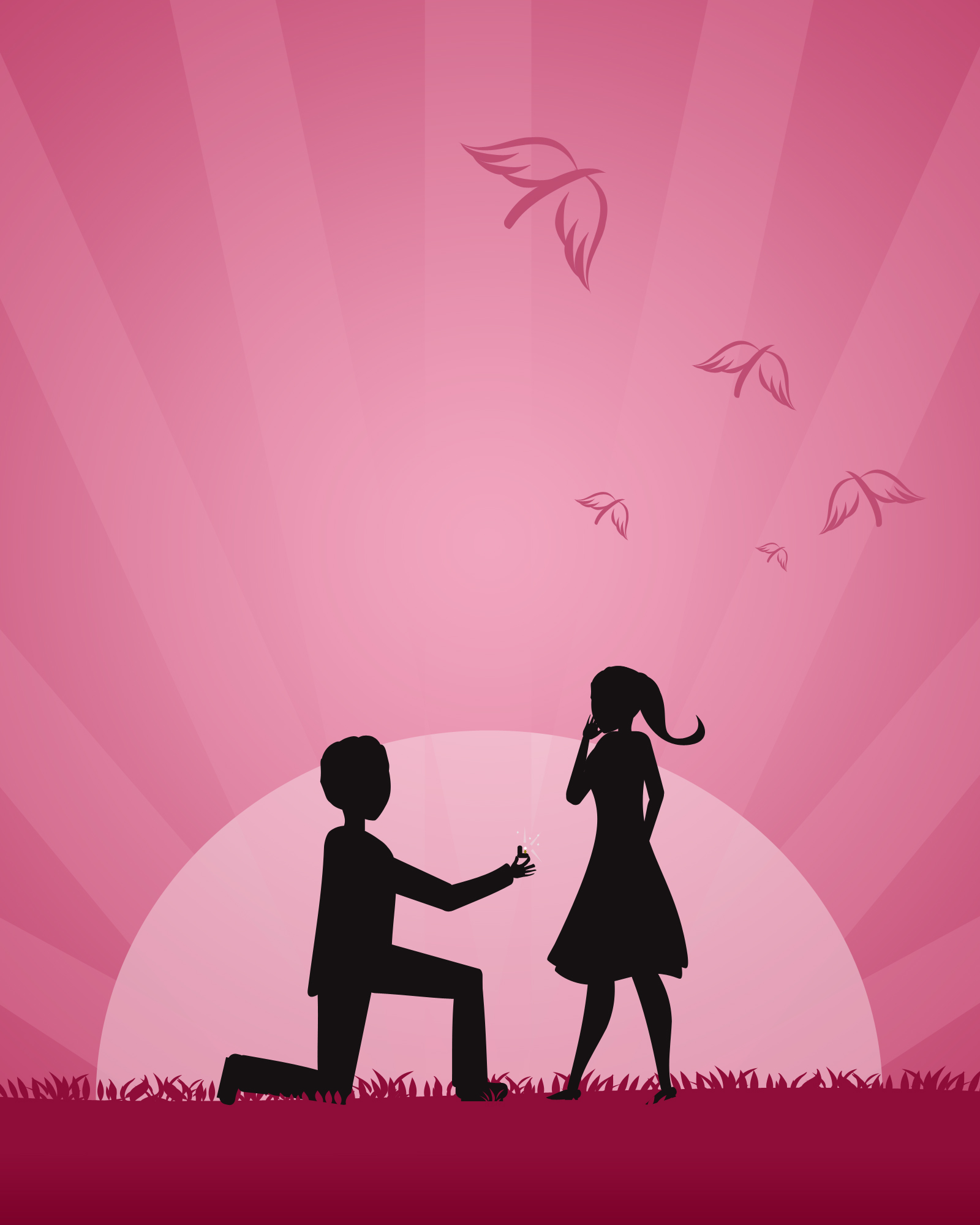 Make your proposal one to remember - Flower PressFlower Press