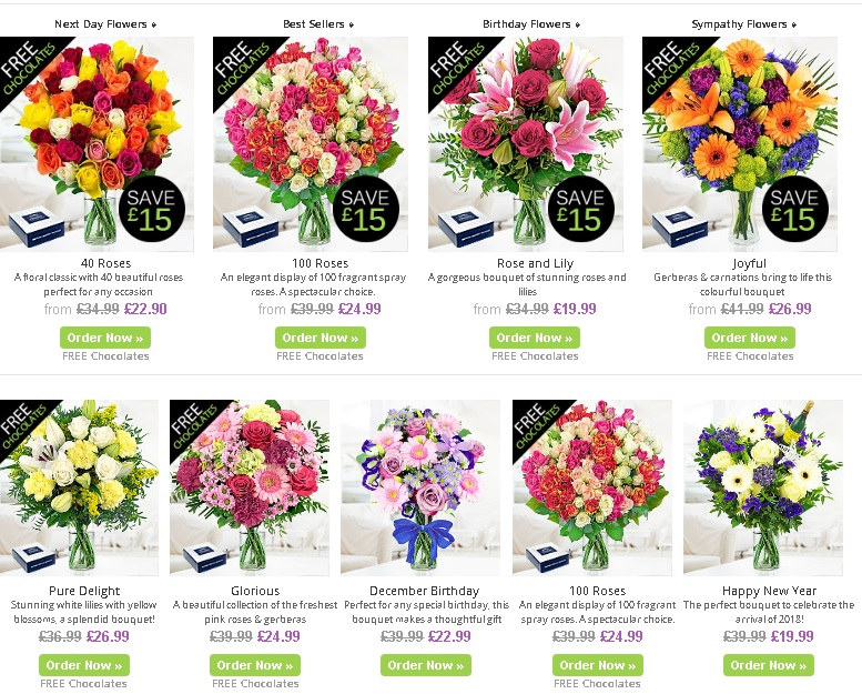 Safely order fresh flowers online