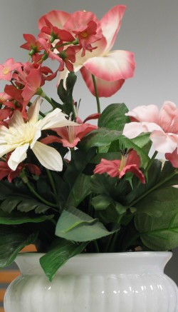 Silk flower care