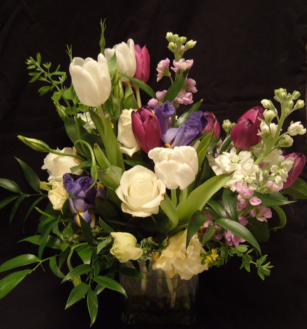 Sending fresh flowers just because flower pressflower press