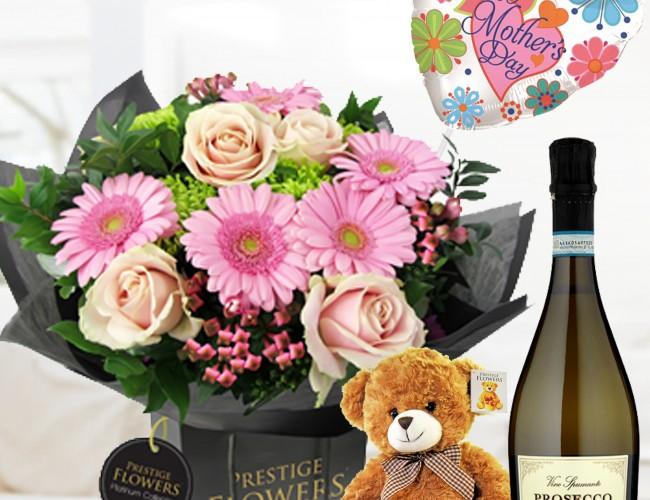 Gift bag flowers