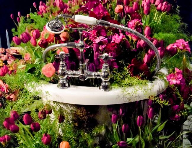 Harrogate Flower Show Bath of Flowers