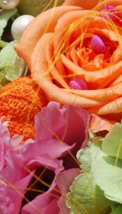 French country style flower arranging tips