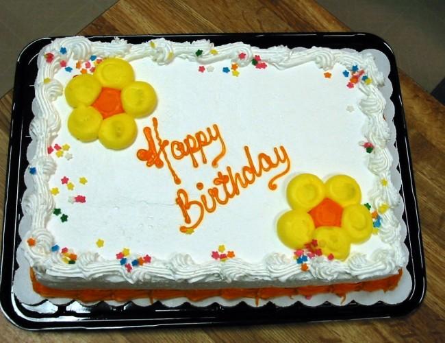 Milestone birthday flowers