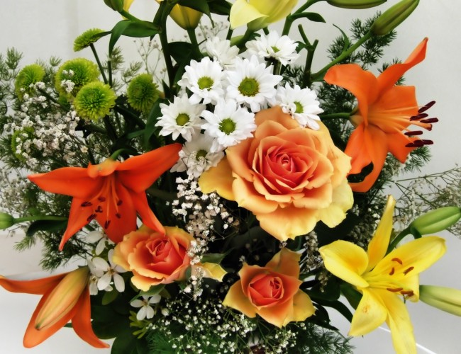 Flower arranging advice