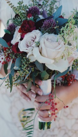 Flowers for renewing your vows