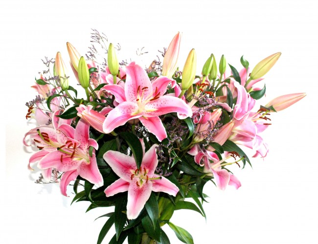 Flowers for support