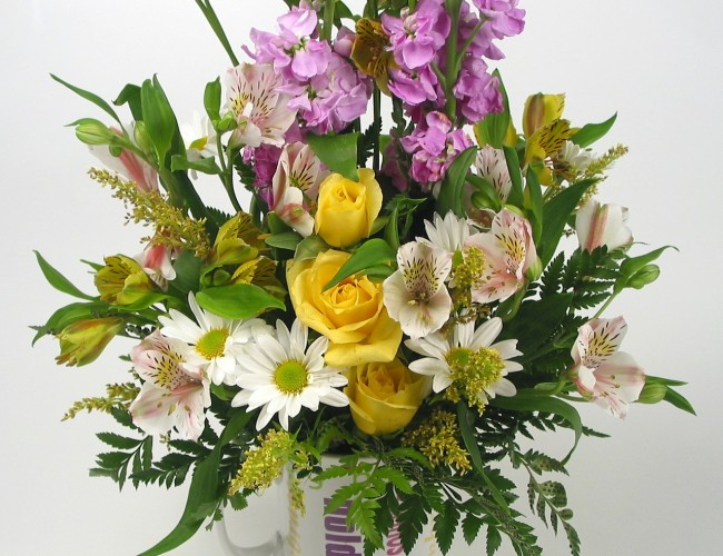 Retirement celebration flowers