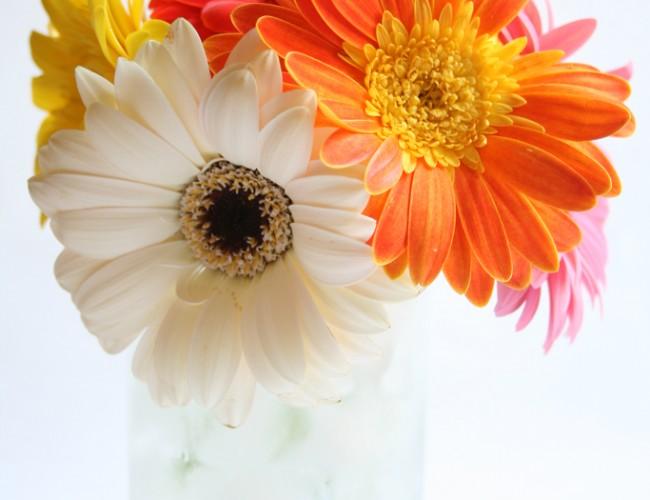 Short flower arrangement