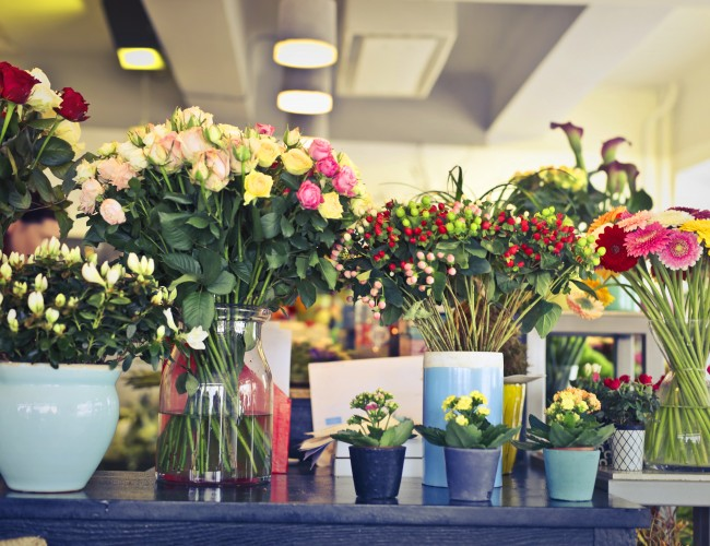 Types of flower arrangements