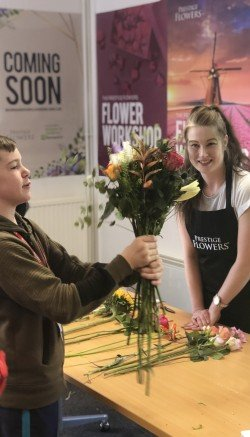 Prestige Flowers and Barnardo's